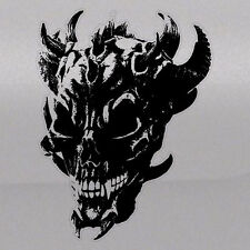 Horned Devil Skull Graphic Tailgate Hood Window Decal Vehicle Truck Vinyl Car