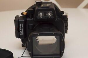 Meikon MK-EOSM Underwater Housing (40m) for Canon EOS M with 18-55mm lens