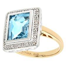 Topaz Good Cut I1 Fine Diamond Rings