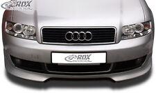 Lip spoiler,Bumper, Extension, Splitter,Front Spoiler AUDI A4-B6/8E  - True1Blue