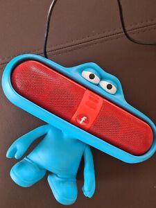 Dr Dre Beats Pill Red Dude Charakterständer Lautsprecherhalter Lautsprecher