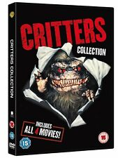 Critters 1-4  Collection   -  DVD -   Brand New