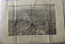 """""""PARIS A VOL D'OISEAU """" LE MONDE ILLUSTRÉ 1859"""