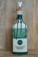 Tullamore Dew Tiki Torch Handmade DIY Bottle Shabby Chic Vintage Upcycled