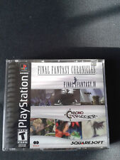 PS1 Final Fantasy Chronicles US 2 CD Neuf sous blister/NEW Sealed