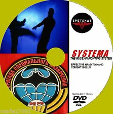 SYSTEMA STEP BY STEP TUITION COMPLETE SELF DEFENCE GUIDE DVD HAND 2 HAND COMBAT