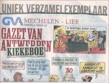 Kiekeboe Special: Krant GVA Kiekeboe. (Gazet van Antwerpen)