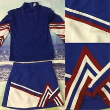 Real Cheerleading Uniform Youth Med July 4th