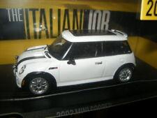 "1:43 Greenlight Mini Cooper 2003 ""The Italian Job"" white/weiss OVP"