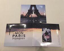 Carte/dépliant Parfumée Du Nouveau Parfum Mon Paris De Yves Saint Laurent