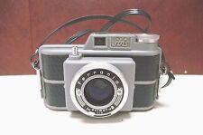 Mid Century Ferrania Ibis Rangefinder Camera Aluminum Made in Italy c. 1950