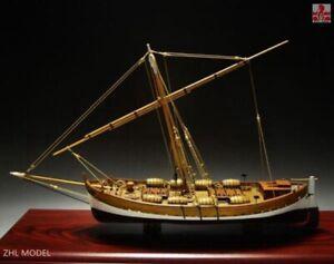 "ZHL LEUDO Scale 1/48 430mm 17"" Wood Ship Model Kit Sailboat model kit"