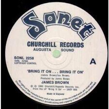 """James Brown 45RPM R&B & Soul 12"""" Singles"""