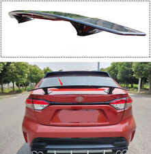 2020 For Toyota Corolla Aircraft model tail Trunk Spoiler Wing Lip Trim