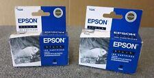 Joblot 2 x Epson T026 Stylus Photo 810/830/830U/925/935 New Black Ink Cartridge