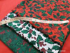 Telas y tejidos de navidad Polialgodón para costura y mercería