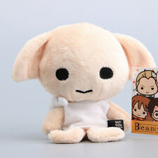 "New Harry Potter Beans Dobby Beanie Plush Toy Soft Stuffed Doll 5"" kids Gift"