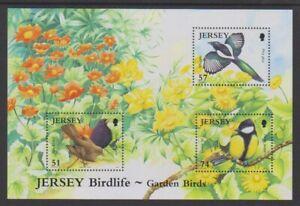 Jersey - 2007, jersey Birdlife, Garden Birds sheet - MNH - SG MS1317