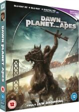 Dawn Of The Planet Of The Apes 3D Digital HD Blu Ray *NEW & SEALED*