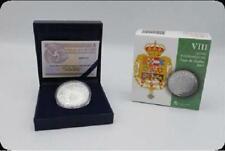 ESPAÑA: 10 euro plata 2017 proof  CASA DE BORBON - Joyas Numismaticas 8 reales