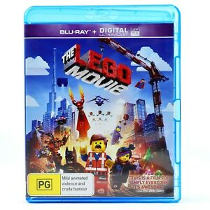 The Lego Movie Animation Comedy Family Children Blu Ray RB Good Condition
