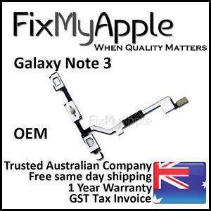 Samsung Galaxy Note 3 OEM Home Menu Return Back Touch Sensor Button Flex Cable