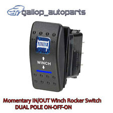 Rocker Switch Winch In/Out Momentary  ARB CARLING JEEP Waterproof 7Pin 12V 20A