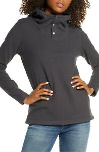 the North Face Knit Stitch Fleece Hoodie, Size X-Small - Black NDS111