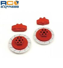 HPI Racing E10 Brake Disc & Caliper Set Red HPI33450
