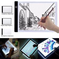 A4 USB LED Artist Tattoo Arts Stencil Board Light Tracing Drawing Pad Table Box
