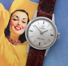 Ladies' 1967 24j Omega Seamaster/Ladymatic Stainless Steel Watch  - SERVICED!