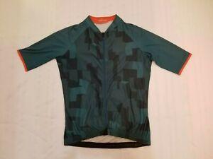 Men's Velocio cycling jersey short sleeve size medium