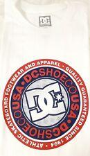 Dc Shoes Apparel Co Skateboard Footwear since 1994 T-Shirt Shirt Men's L White