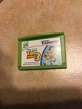LeapFrog Leapster Explorer LeapPad Learning Cartridge Disney Toy Story 3