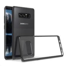 For Samsung Galaxy Note 8 SM-N950 Slim Hard Clear TPU Phone Case - Black