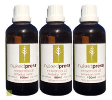TEA TREE ESSENTIAL OIL 100% PURE 100ML x 3 VALUE PACK - AROMATHERAPY GRADE