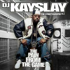Streetsweeper, Vol. 2: The Pain from the Game [PA] by DJ Kayslay (CD ONLY)