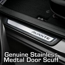 Genuine Door Step Scuff Plate Panel 2EA For Hyundai ELANTRA Avante MD 2011 2016