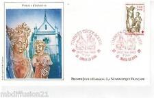 1983 - ENVELOPPE FDC 1°JOUR**/CROIX-ROUGE - VIERGE A L'ENFANT - TIMBRE Yt.2295