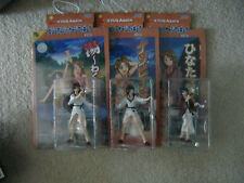 LOVE HINA AGAIN ACTION FIGURE SET (PING PONG, NARU, ANIME, sdcc)