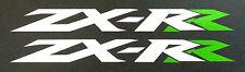 Adesivi Kawasaki ZX-RR bianchi R verde - adesivi/adhesives/stickers/decal