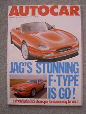 Autocar (17 Aug 1988) Janspeed XJS, E-Type, F-Type, Alpina B11, C2, Mercedes 260