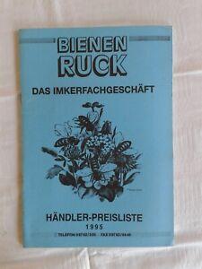 Bienen Ruck - Das Imkerfachgeschäft, Händler-Preisliste 1995
