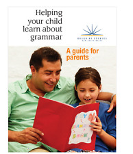 Helping your child learn about grammar