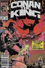 Conan the king nº 54/1989 James Owsley & Geof Isherwood/Joe Jusko cover
