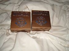 MAD MAGAZINE ALFRED E. NEUMAN BOOKENDS VINTAGE GOLD HARD PLASTIC BOOK ENDS