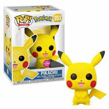 Funko Pop! Television: Pokemon - Pikachu (Flocked) Vinyl Figure (GameStop Exclusive)