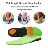 2019 Orthotic Insoles Flat Foot High Arch Heel Support Plantar Feet Inserts Pads