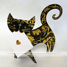 """3D Special Delivery Greeting Card - Cat """"Paris"""" - SD-027"""