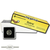 25 - Guardhouse 2x2 Tetra Plastic Snaplocks Coin Holders for Nickel & $5 Gold